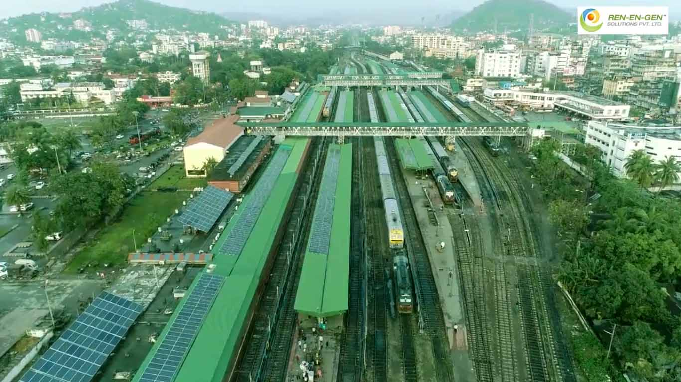 Guwahati becomes India's 1st solar powered railway station