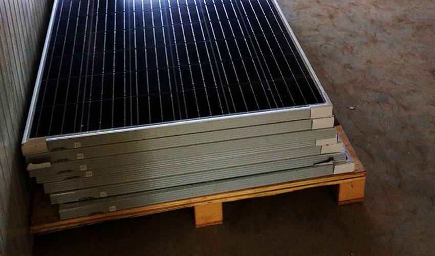 antimony solar PV glass