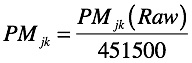 Equation 8: Scaled Psychic Metric