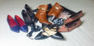 shoes and ankle boots