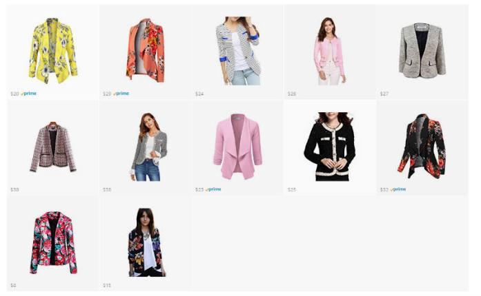 giacche donna economiche