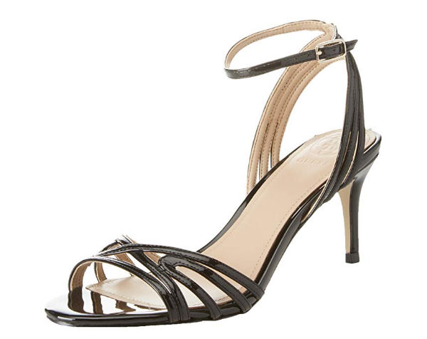 Kitten heel sandal by Guess 87,50 Euros