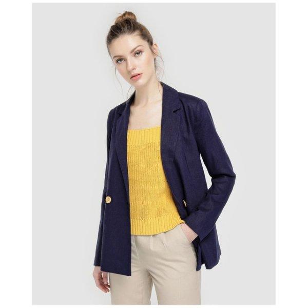 Linen blazer 24,99 Euros (it was 49,99 Euros) on La Redoute Fr online