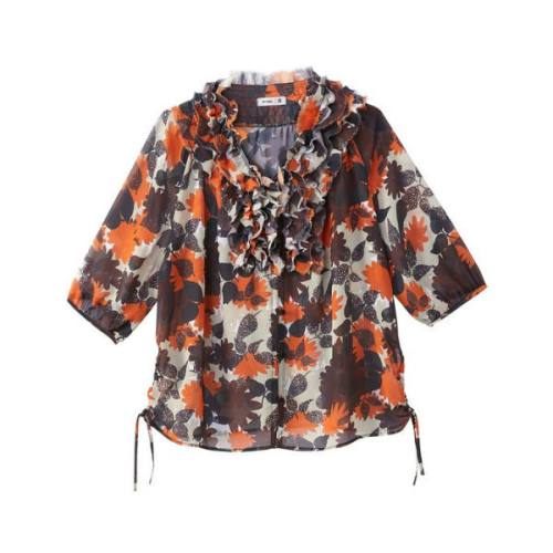 floral print blouse 15,75 Euros (it was 34,99 Euros), on La Redoute Fr website