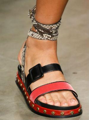 sandalo basso colorato, Pinterest
