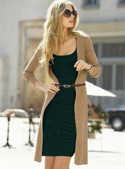 cardigan and dress, Pinterest