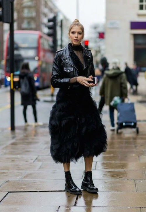 tulle skirt and combat boots, Pinterest