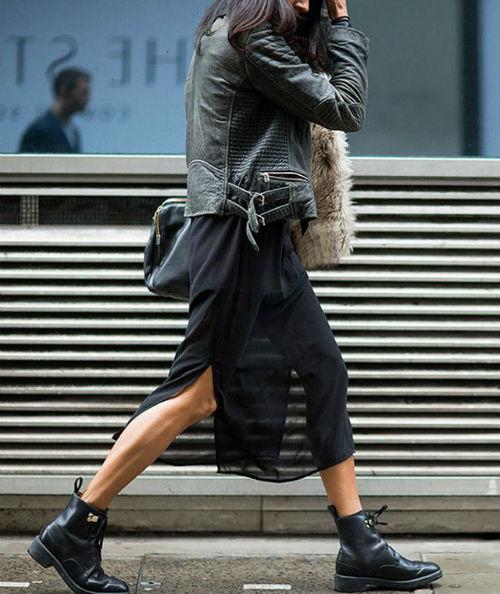 skirt and combat boots, Pinterest