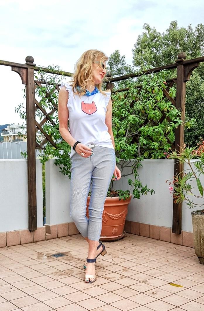 sandali estivi con tacco medio per il look da giorno