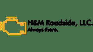 h m roadside logo