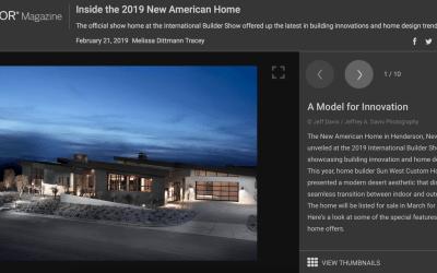 Take a Peek Inside the 2019 New American Home