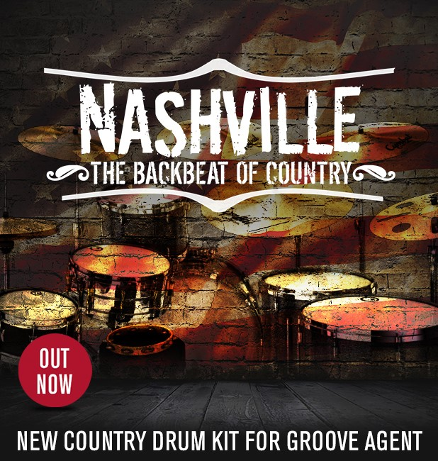 Nashville Drums for Groove Agent