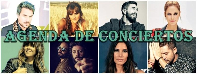 agenda conciertos españa otoño 2017
