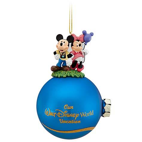 Disney Holiday Ornament Our Walt Disney World Vacation