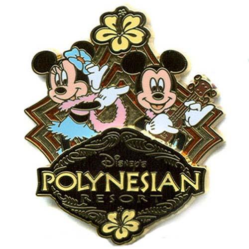 Your WDW Store Disneys Polynesian Resort Logo Pin