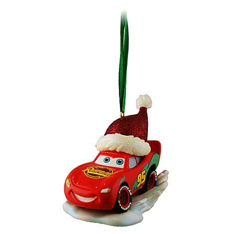 Disney Christmas Ornament Cars Lightning McQueen