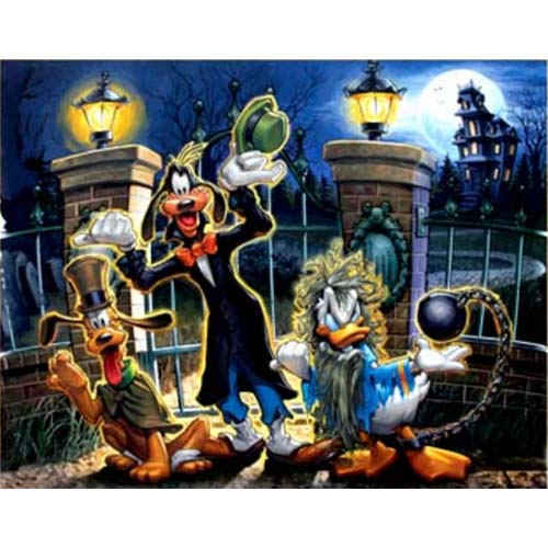 Disney Greg McCullough Print Room For 1 More Hitchin