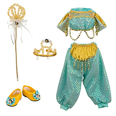 My Disney Girl Doll Costume Jasmine