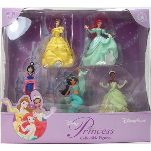 Your WDW Store Disney Figurine Set Princesses NEW