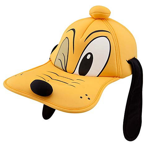 Disney Baseball Cap Pluto Sculptured Head