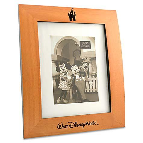 Disney Picture Frame Castle Wood Frame 8 X 10