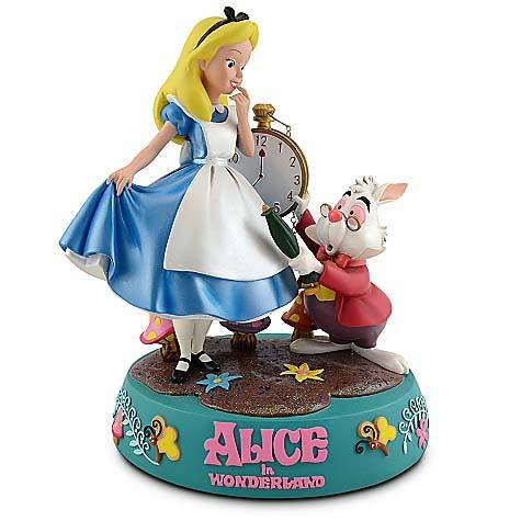 Disney Medium Figure Statue Alice In Wonderland Alice