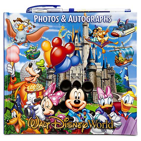 Your WDW Store Disney Autograph And Photo Book