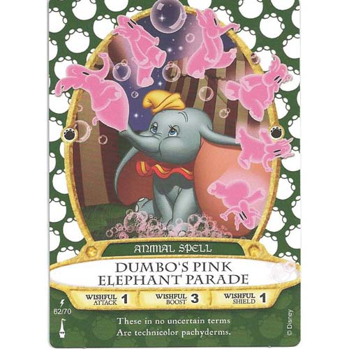Disney Sorcerers Of Magic Kingdom Cards Dumbo