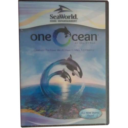 Your WDW Store Sea World DVD One Ocean All New Shamu