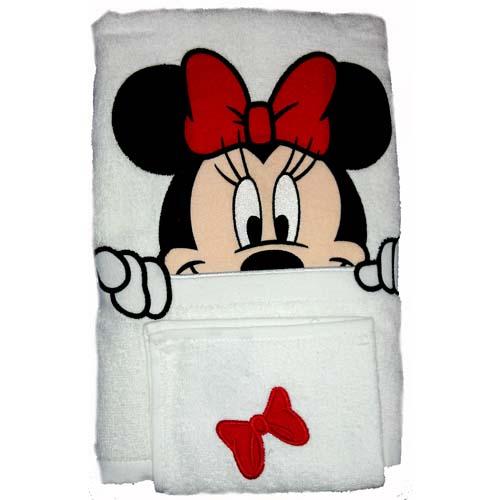Your WDW Store Disney Bath Towel Set Minnie Mouse