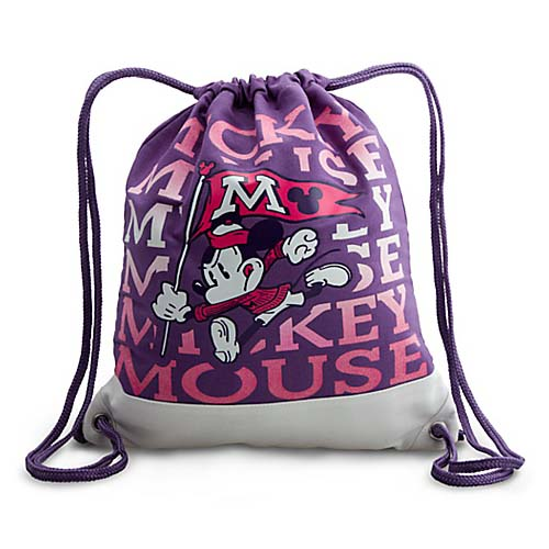 Your WDW Store Disney Backpack Bag Canvas Mascot