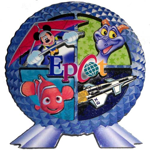 Your WDW Store Disney Kitchen Magnet Epcot Logo