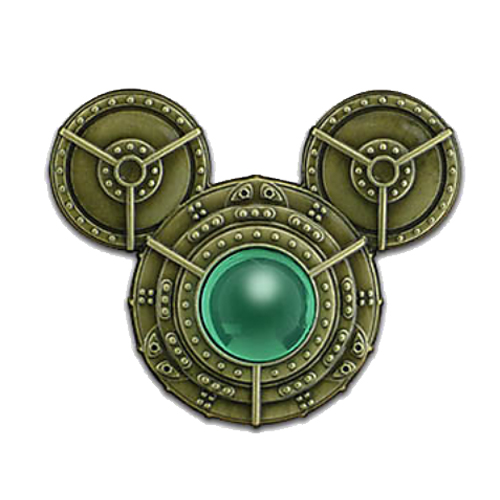 Disney Mickey Icon Pin Steampunk Mickey Icon