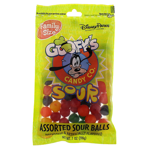 Your WDW Store Disney Goofy Candy Co Assorted Sour Balls
