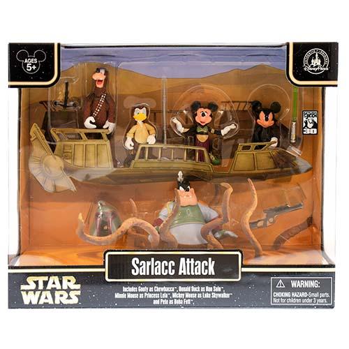 Disney Action Figure Set Star Wars Weekends 2013 Sarlacc