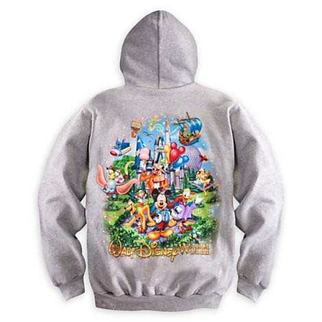 Your WDW Store Disney ADULT Hoodie Mickey Mouse And