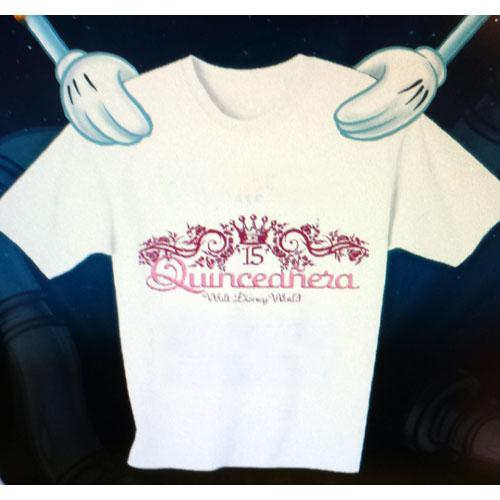 Disney ADULT Shirt Quinceaera
