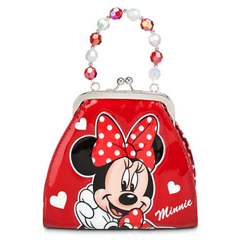 Disney Bag Purse - Minnie Mouse Glitter Handbag