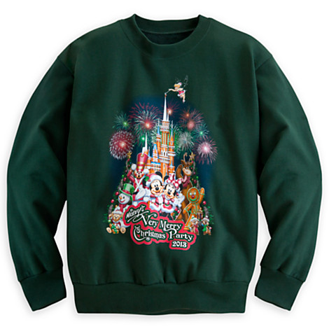 Your WDW Store Disney Youth Shirt 2013 Mickeys Very Merry Christmas Party Fleece
