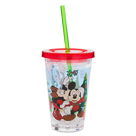 Your WDW Store Disney Tumbler With Straw Mickey And