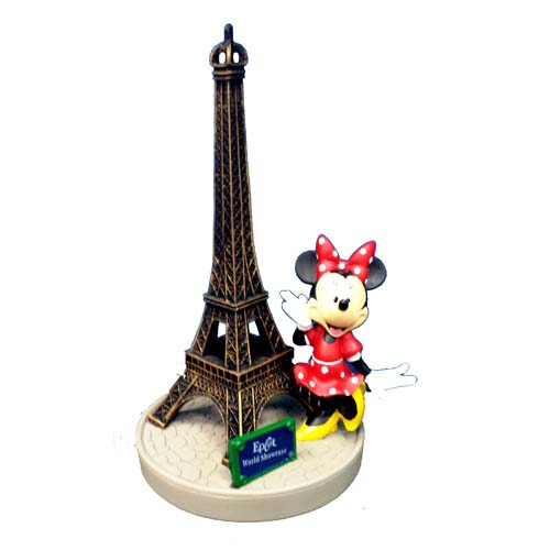 Disney Figurine Minnie Eiffel Tower