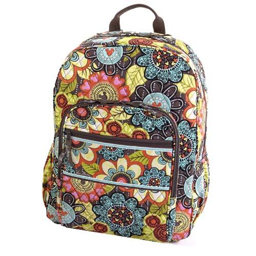 Disney Vera Bradley Bag Mickeys Perfect Petals Backpack