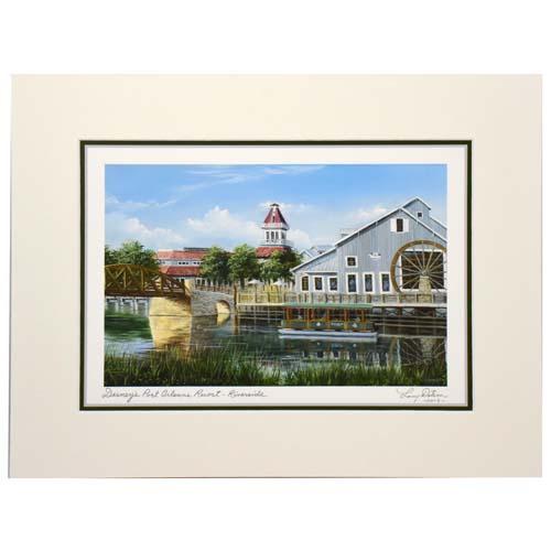 Your WDW Store Disney Larry Dotson Print Disneys Port