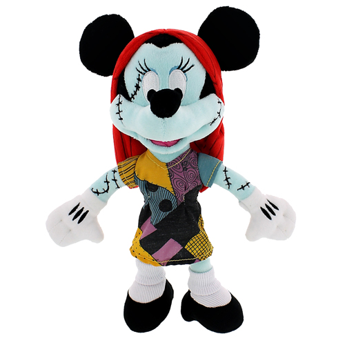 Disney Plush Minnie Mouse Halloween Rag Doll Sally