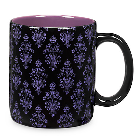 Disney Coffee Cup Mug Haunted Mansion Wallpaper Hurry Back