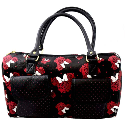 Your WDW Store - Disney Bag Purse - Minnie Mouse - Red Rose