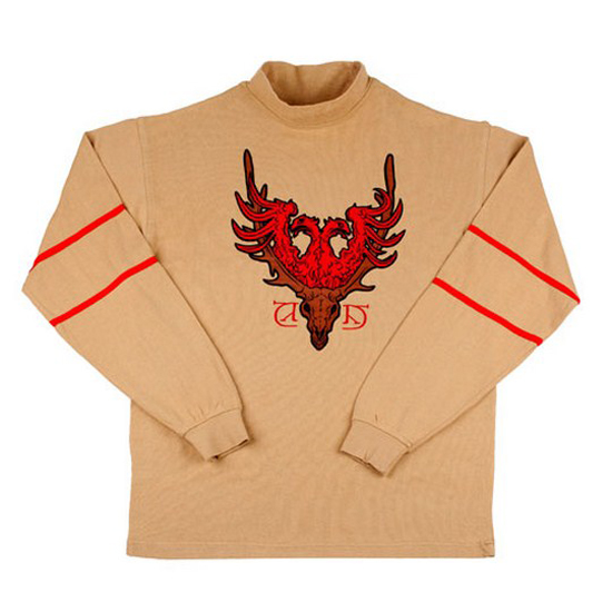 Universal Adult Shirt Viktor Krum Triwizard Jersey Beige