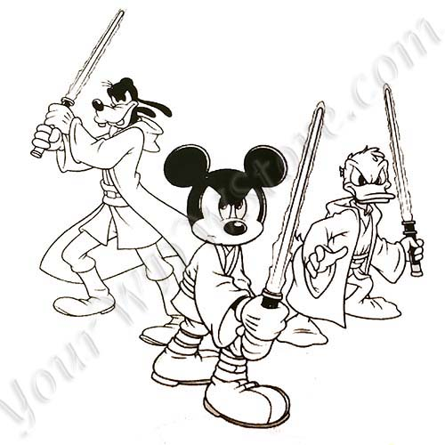 Disney Sorcerer Mickey Coloring Pages