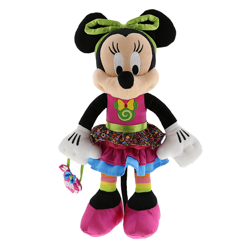 Disney Plush Candy Minnie Mouse Plush 12