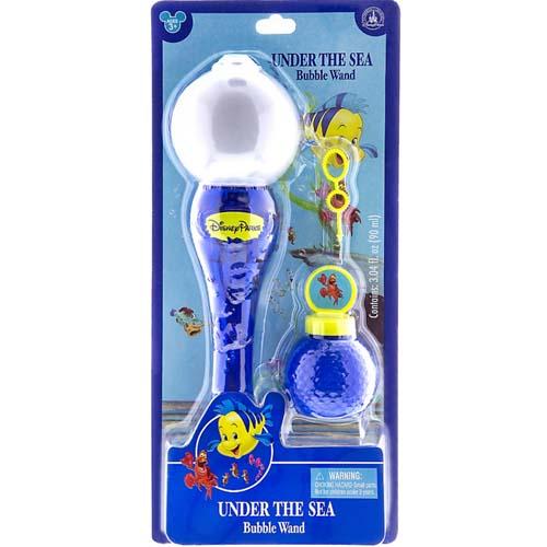 Disney Toy Under The Sea Flounder Bubble Glow Wand